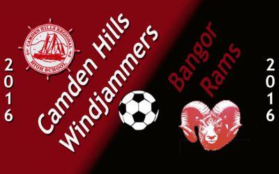 Maine Class A Girls Soccer – Bangor at Camden Hills 9.20.16