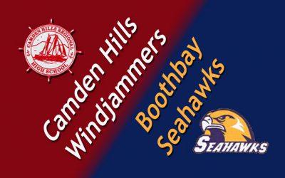 Camden Hills Windjammer Football vs. Boothbay Region 9/3/16