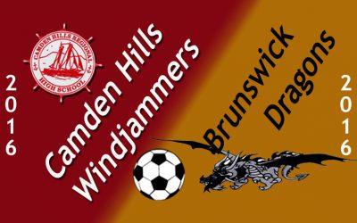Maine Class A Girls Soccer : Camden Hills vs. Brunswick 9.6.16