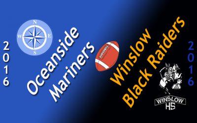 Oceanside vs. Winslow Football 10.2.16