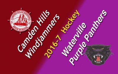 Camden Hills Hockey vs. Waterville, 12/14/16