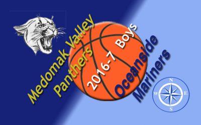 Medomak Valley Boys Basketball vs. Oceanside 12/12/16