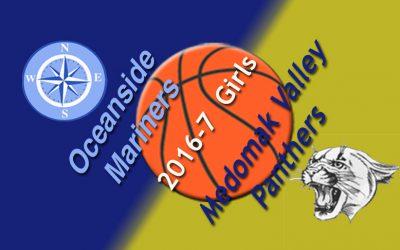 Medomak Valley Girls Basketball vs. Oceanside 12/19/2016
