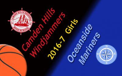 Oceanside Girls Basketball vs. Camden Hills, 2/4/2017
