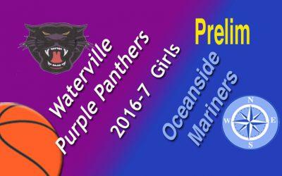 Girls Basketball Class A North Prelim : Oceanside vs. Waterville 2/14/17 (updated)
