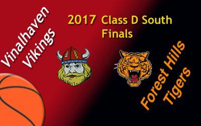 Vinalhaven Girls Basketball vs. Forest Hills, Maine Class D South Regional Final 2/25/17
