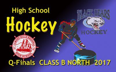 Camden Hills Ice Hockey vs. Old Town/Orono : Class B North Quarter Final 2/28/17