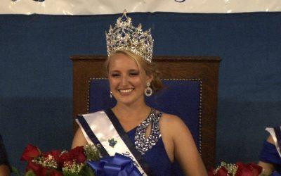 Maine Wild Blueberry Queen Coronation 2017