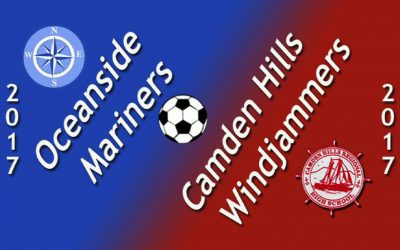 Midcoast Boys soccer : Camden Hills vs. Oceanside 9/19/17