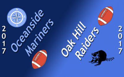 Maine High School Football: Oceanside vs. Oak Hill 9/22/17