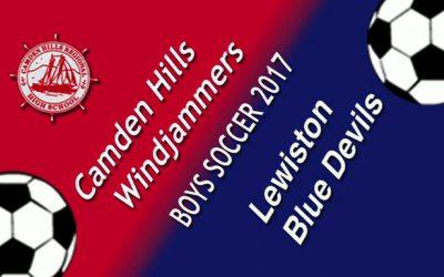 Maine Class A North Boys Soccer : Camden Hills vs. Lewiston 9/22/17