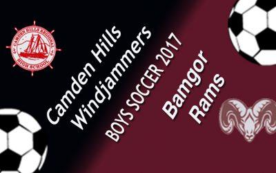 Maine Class A North Boys Soccer – Camden Hills vs. Bangor 9/9/17