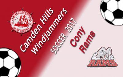 Maine Class A North Girls Soccer : Camden Hills vs. Cony 9/26/17