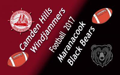 Maine High School Football: Camden Hills vs. Maranacook 10/6/17