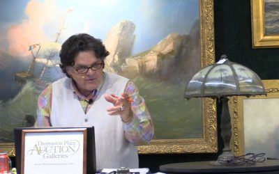 """""""Worldly Enticements and Timeless Treasures"""" Thomaston Place Auction June 2018 : Part 2"""