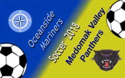 Medomak Valley vs. Oceanside Boys Class B Soccer 9/6/18