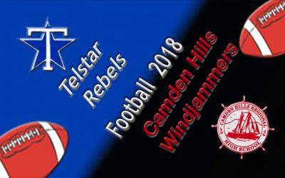Camden Hills Football vs. Telstar 9/8/18