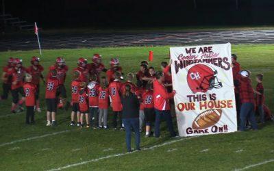 Camden Hills Homecoming Football Game vs. Traip 9/28/18