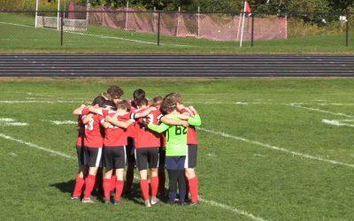Camden Hills Boys Soccer Homecoming Game vs. Hampden 9/29/18