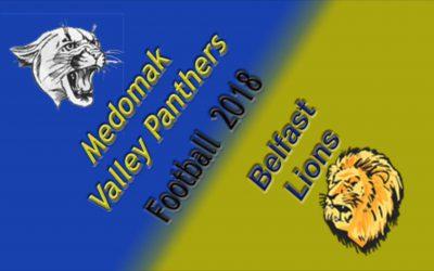 Medomak Valley Football vs. Belfast  10/5/18