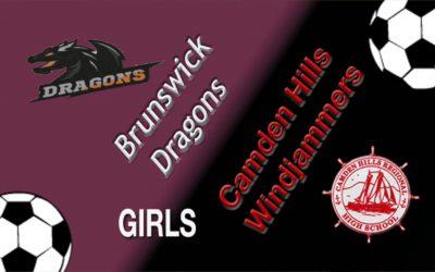 Camden Hills Girls Soccer vs. Brunswick 10/9/18