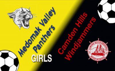 Camden Hills Girls Soccer vs. Medomak Valley 10/12/18