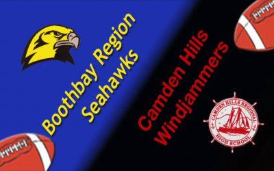 Camden Hills Football Game vs. Boothbay Region, October 12, 2018