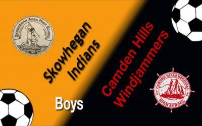 Camden Hills Boys Soccer vs. Skowhegan  10/15/18