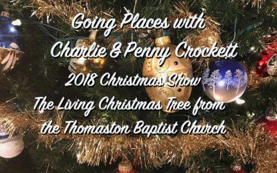 The Living  Christmas Tree, Thomaston Baptist Church 2018