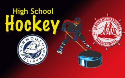 Camden Hills Boys Ice Hockey vs. Yarmouth 12/22/18