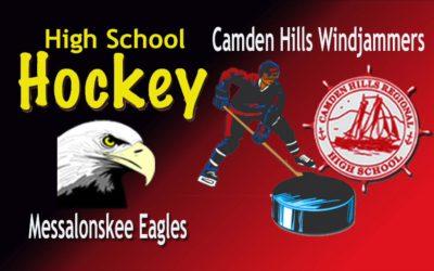 Camden Hills Ice Hockey vs. Messalonskee, 12/28/18