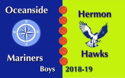Oceanside Boys Basketball vs. Hermon 1/12/19