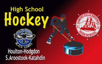 Camden Hills Hockey vs Houlton/Hodgdon/      S.Aroostook / Katahdin 2/20/19