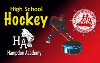 Maine Class B North Hockey 1/4 Final Camden Hills vs. Hampden  2/26/29