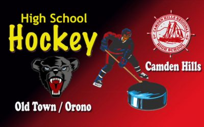Class B North 2019 Ice Hockey SemiFinal Game:  Old Town/Orono vs. Camden Hills
