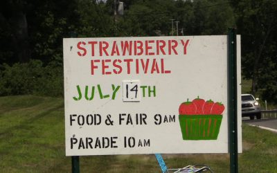 2018 Lincolnville Strawberry Festival and Blueberry WingDing