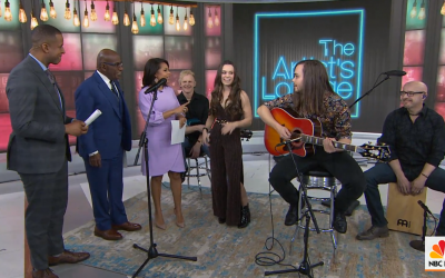 CWS 2019-04-10 National Musicians Jocelyn and Chris Arndt, Live on The Chris Wolf Show. WATCH NOW!