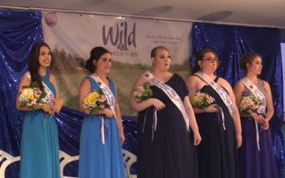 Maine Wild Blueberry Queen Coronation 2019
