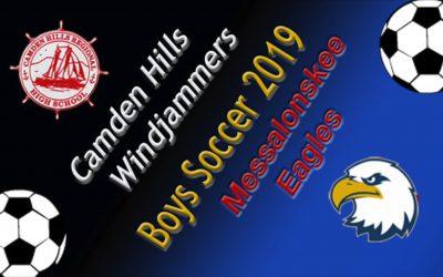 Class A Boys Soccer : Camden Hills vs. Messalonskee  9/14/19