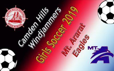 Class A North Girls Soccer : Camden Hills vs. Mt. Ararat  9/17/19