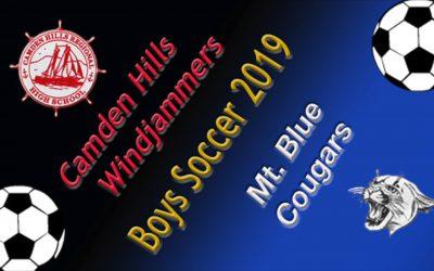 Maine Class A Boys Soccer : Camden Hills vs. Mt. Blue 9/24/19