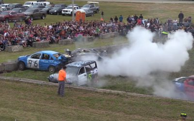 Union Fair 2019 Highlights: Part 1 of Demolition Derby & Kids Events