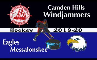 Class B North Ice Hockey Quarter Final: Camden Hills vs. Messalonskee  2/25/2020