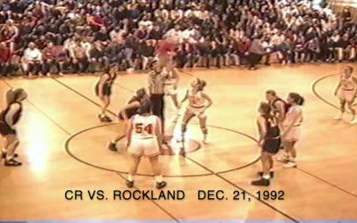 Vintage Basketball Game # 4 : Camden-Rockport Girls vs. Rockland  12/21/1992