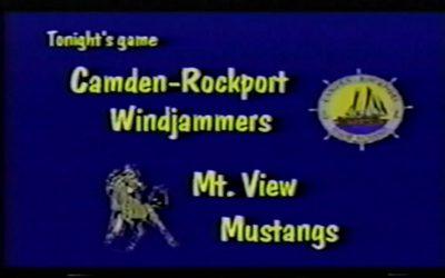 Vintage Basketball Game # 11: Camden-Rockport vs. Mt View  January 8, 1999