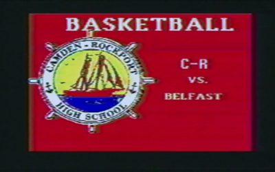 Vintage Boys Basketball Game # 13: Camden-Rockport vs Belfast 1992