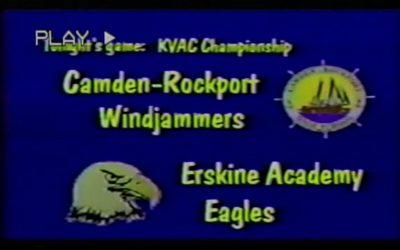 Vintage Basketball Game # 17 : KVAC Boys 1999 Championship C-R vs. Erskine Academy