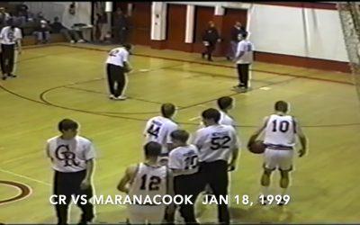 WATCH Vintage Boys Basketball Game # 19 : Camden-Rockport vs. Maranacook 1/18/1999