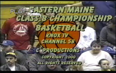 Vintage Basketball Game # 23: Camden-Rockport Girls vs. Foxcroft 2/18/2000