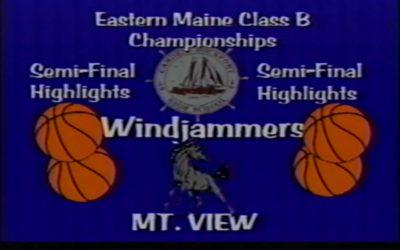 Vintage Game # 25 Eastern Maine 2000 Semi-Final Game : Camden-Rockport Girls vs. Mt.View
